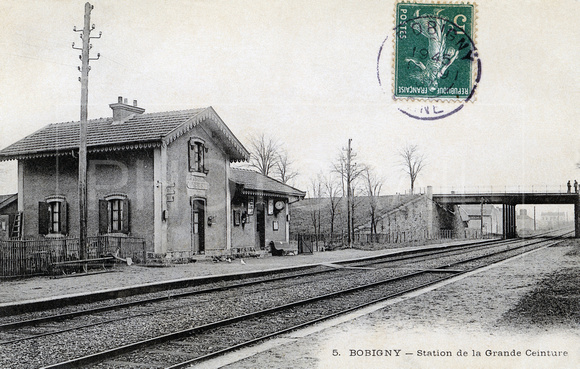Bobigny - Seine St Denis - Ile-de-France, carte postale ancienne
