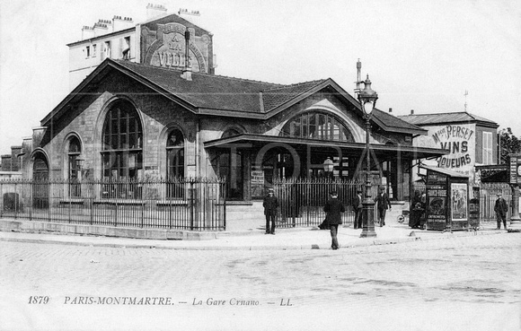 Paris-Montmartre - La Gare  Ornano - Paris - Ile-de-France, cart